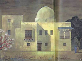 Gouache of the Hamdi Seif al-NasrHouse,1941